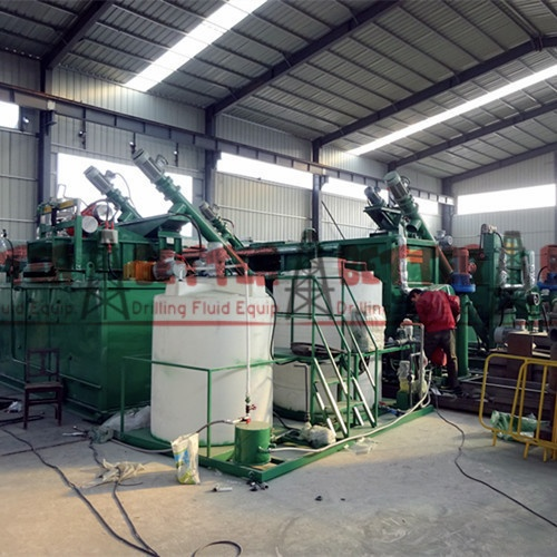 Waste Oily Sand Sludge Treatment & Recycling System